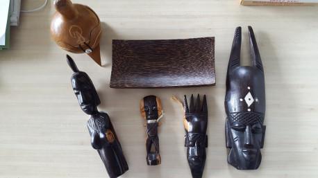 Lot artisanat africain