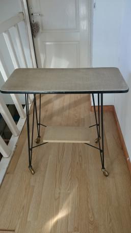 Table télé vintage