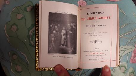 L'imitation de JESUS CHRIST pour les tout petits 1911