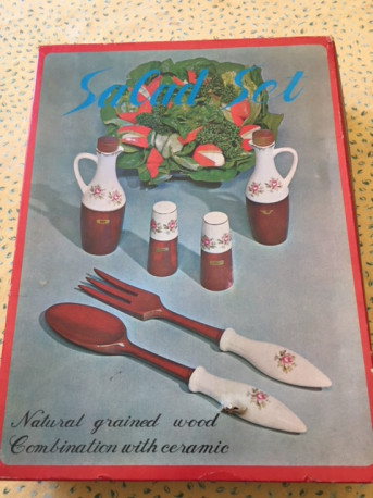 Service à salade