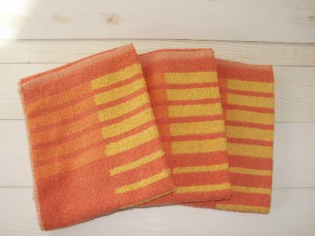 Serviettes de toilette Jules Clarysse, lot de 3 pièces - Vintage