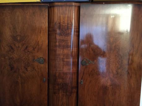 Armoire double penderie vintage