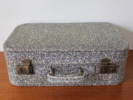 Valise en Skaï vintage