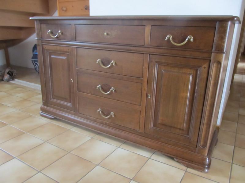 meuble bas en merisier massif fa on antiquaire ancien les vieilles choses. Black Bedroom Furniture Sets. Home Design Ideas
