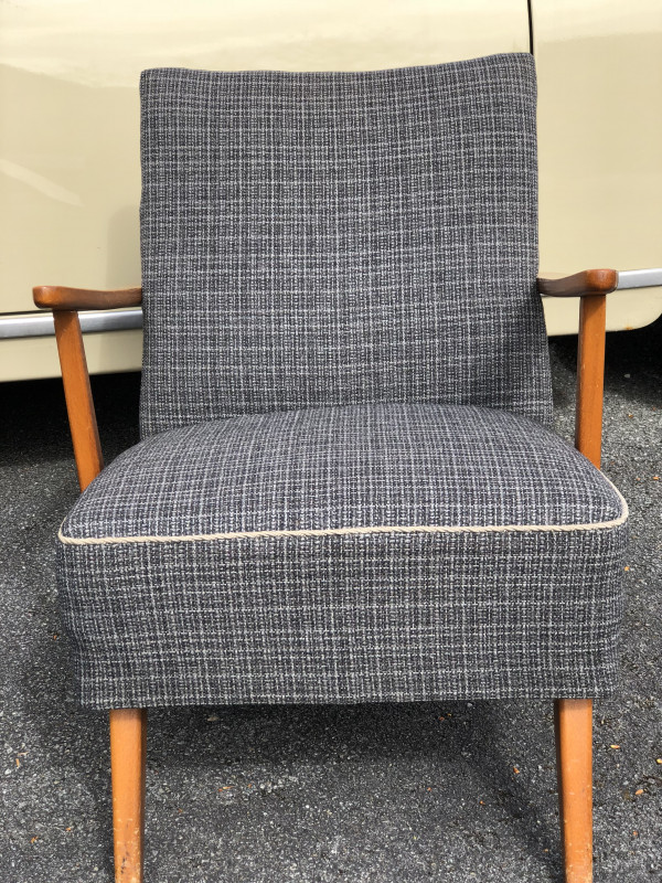 Ensemble canapé fauteuil années 50 vintage - Les Vieilles ...