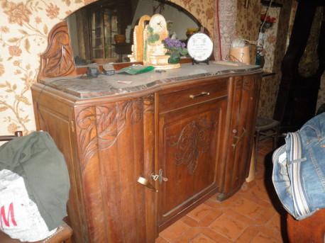 buffet bas vintage les vieilles choses. Black Bedroom Furniture Sets. Home Design Ideas