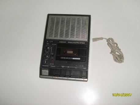 Magnétophone lecteur cassette k7 vintage PHILIPS N2235