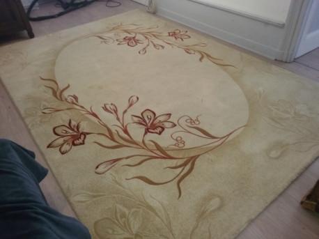 tapis vintage 100% Cachemire