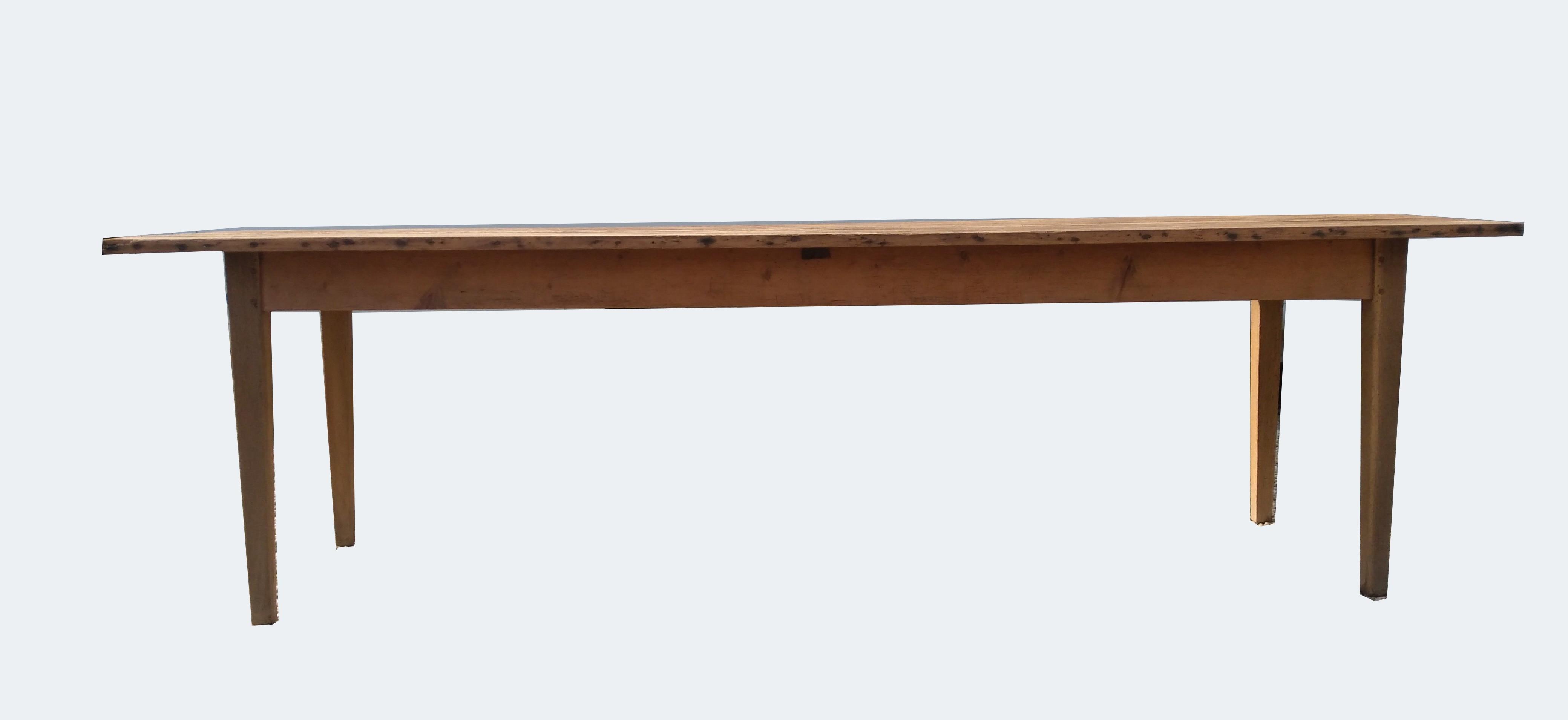 Table de ferme 12 cm