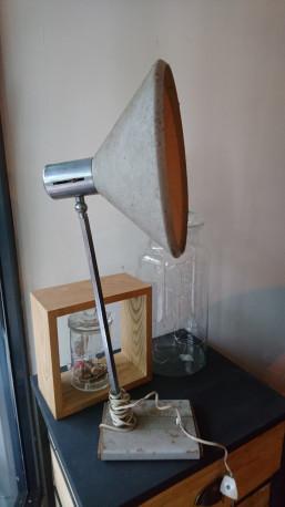 Lampe d'usine vintage