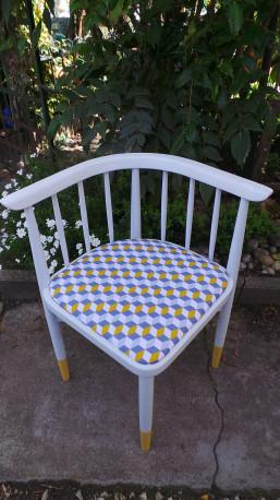 Chaise d'angle Thonet 60' revisitée