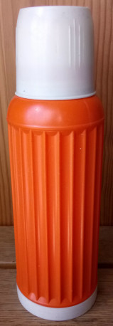 Thermos J.SOBEL Orange, années 70