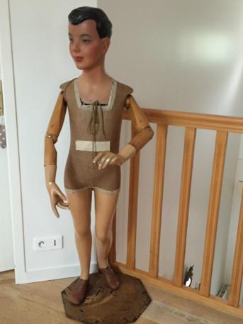 mannequin vintage