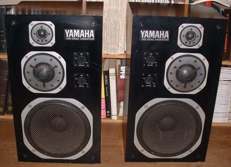 paire enceintes Yamaha NS 1000M vintage
