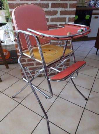 Chaise vintage 2en1