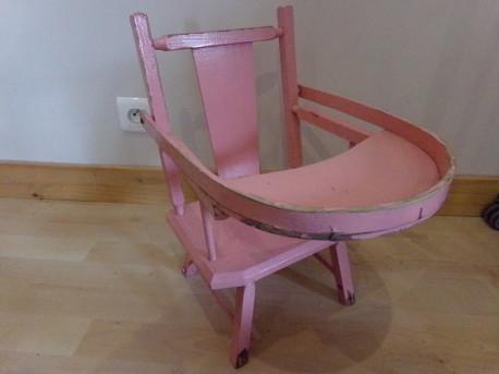 Chaise de poupée années 50
