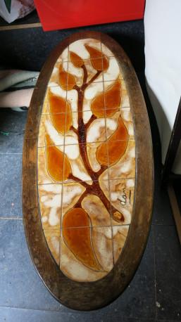 Table basse céramique vintage 80'