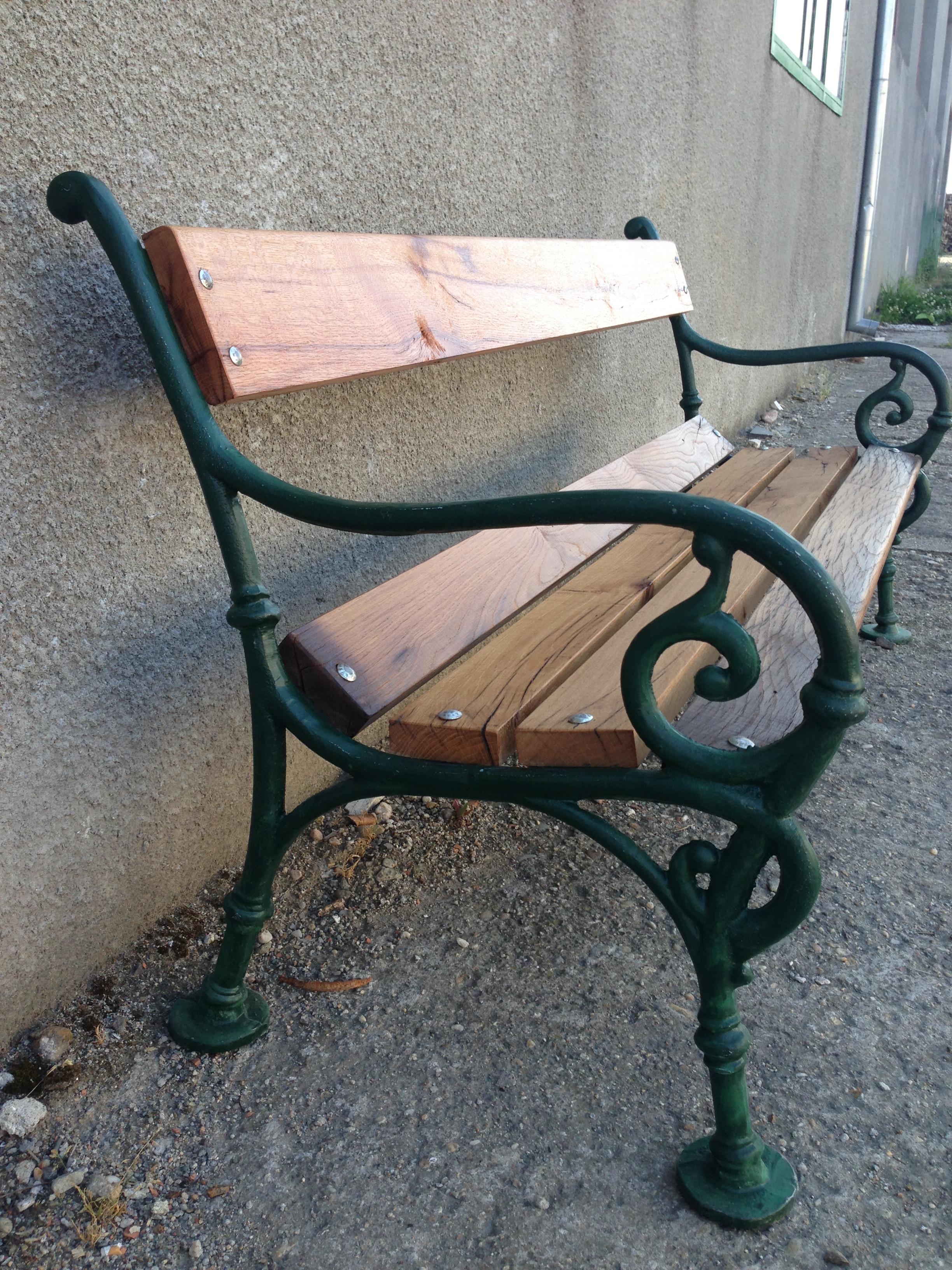 Banc De Jardin Ancien Les Vieilles Choses