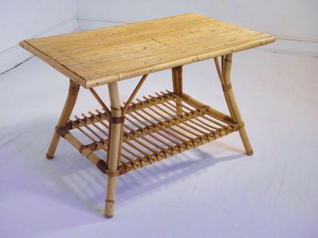 Table Basse En Rotin.Table Basse En Rotin Vintage 1960 Les Vieilles Choses