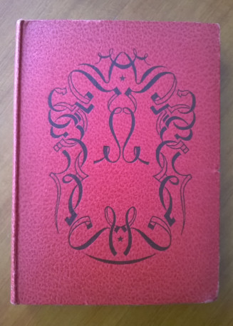 Livre bibliothèque Rouge et Or