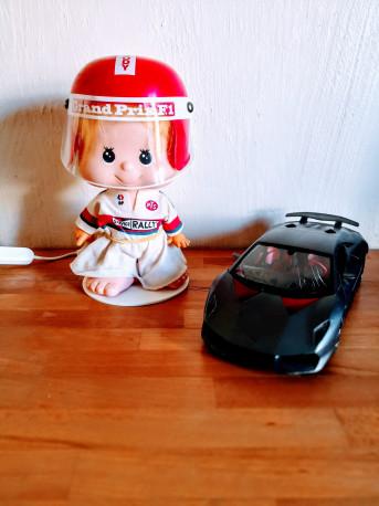 JODY veilleuse et pilote de F1