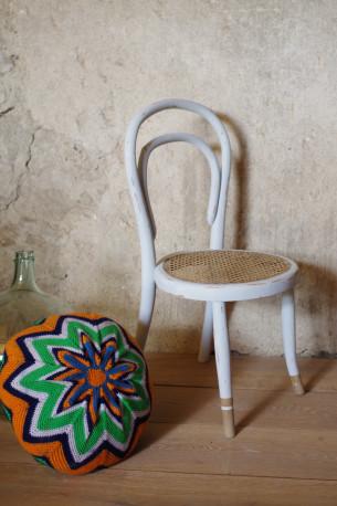 Chaise enfant fauteuil bois courbé Thonet vintage