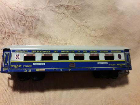 wagon train electrique vintage