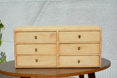 Meuble d'atelier, meuble à tiroirs vintage