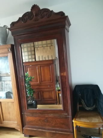 Armoire glace ancien