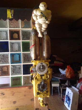 Pompe mélangeur vintage
