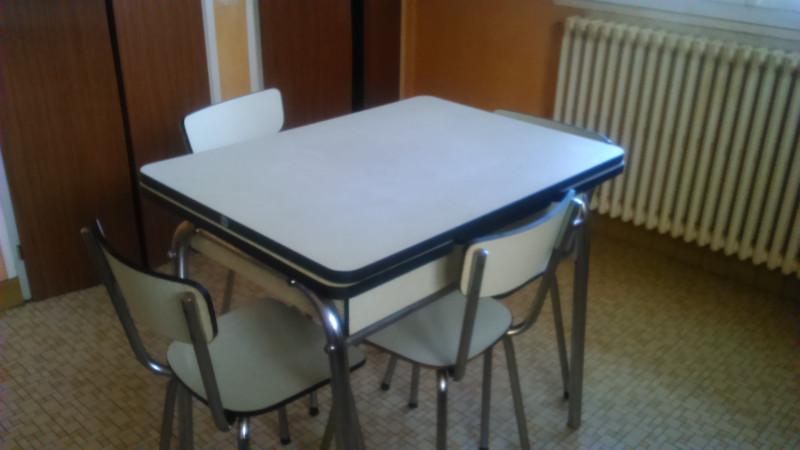 Table Formica Jaune Pale Vintage Annees 60 Les Vieilles Choses