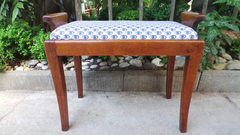 banc de piano vintage revisit les vieilles choses. Black Bedroom Furniture Sets. Home Design Ideas