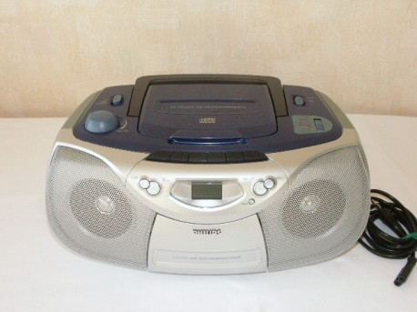 Radio, Cassette, CD Philips - Vintage 90