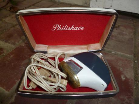 Epilateur Philips vintage