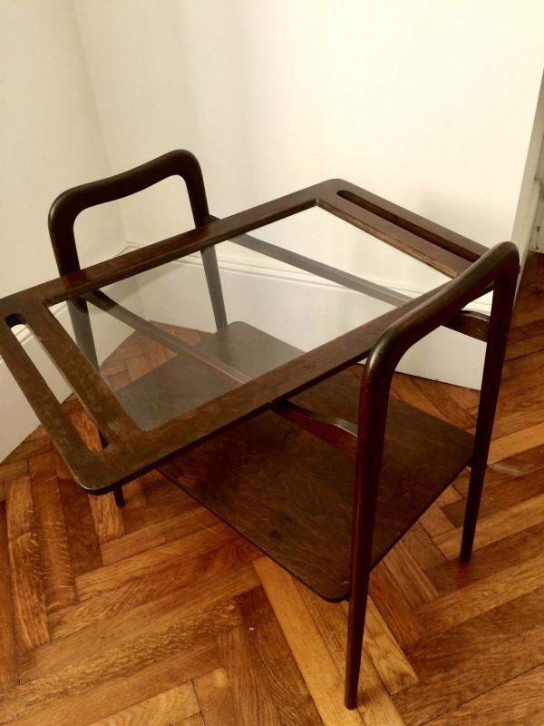 table d 39 appoint scandinave vintage les vieilles choses. Black Bedroom Furniture Sets. Home Design Ideas