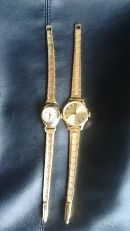 Lot de deux montres anciennes