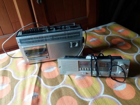 poste radio cassette vintage