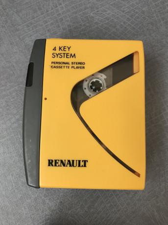 Walkman K7 Vintage RENAULT