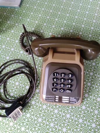 Téléphone à touches vintage Socotel
