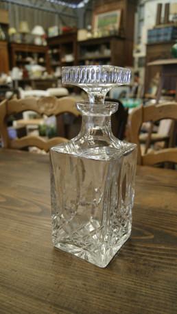 Carafe a whisky en cristal vintage