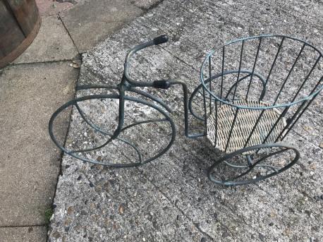 Vélo porte fleur