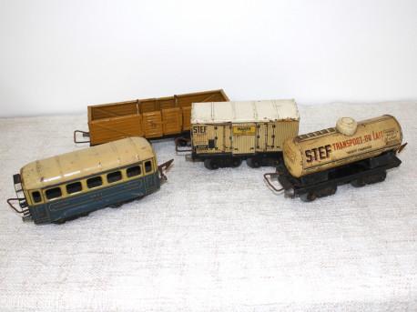 Ancien train électrique JEP