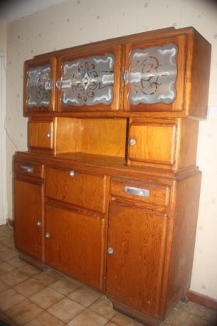 Buffet de cuisine vintage