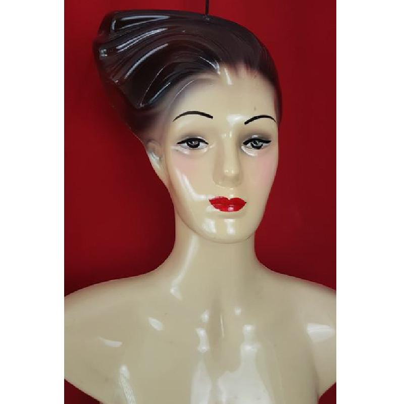 buste mannequin de vitrine thermoformage vintage 1960 les vieilles choses. Black Bedroom Furniture Sets. Home Design Ideas