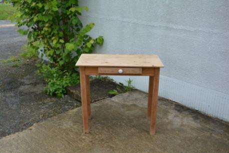 Petite table de ferme, bureau, console