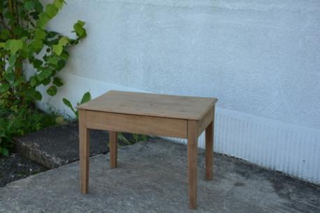 Table basse en chêne ancienne