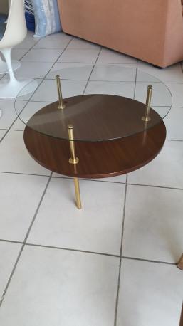 Table basse de Pierre Cruège ou Partroy