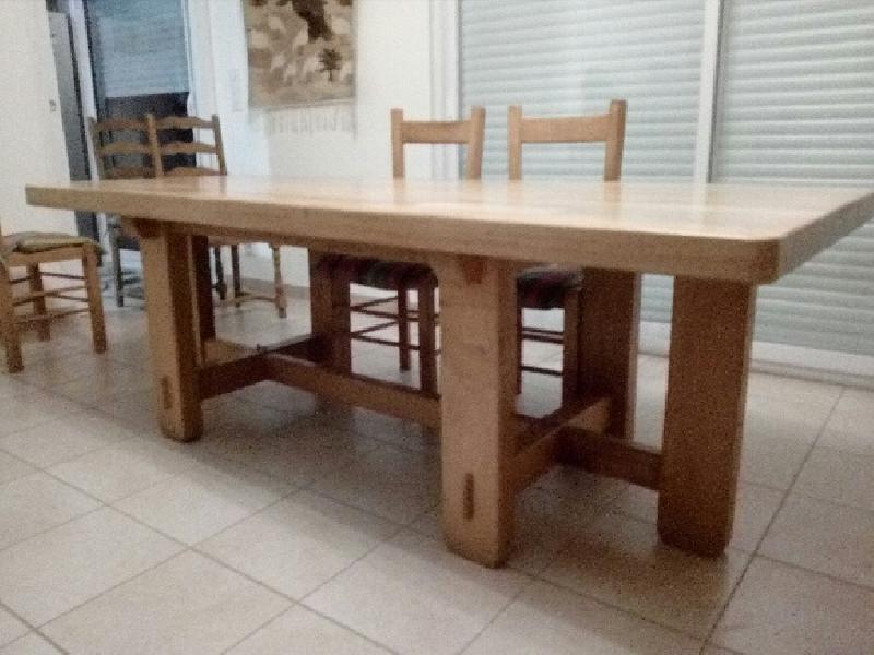 Table Et 6 Chaises Vintage Les Vieilles Choses