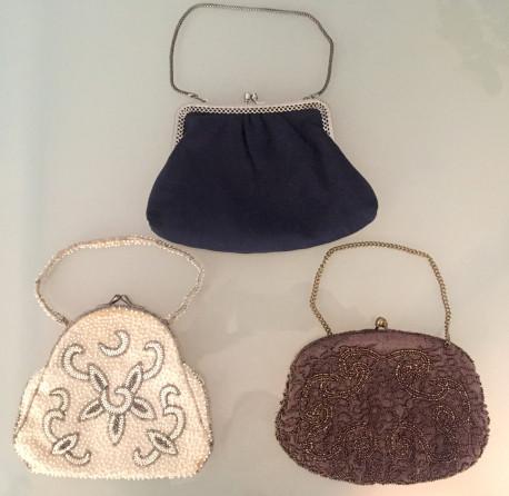 Trois petits sacs vintage