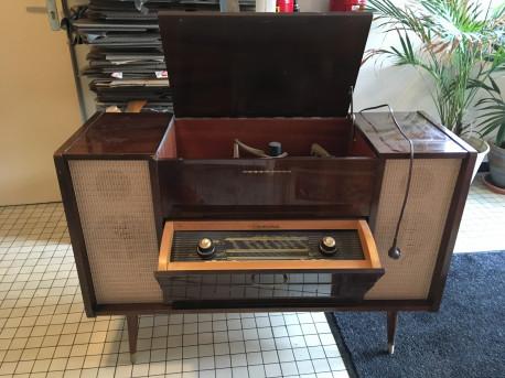 Meuble Radio Normende/Cosima vintage (Années 50)